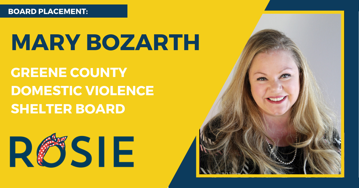 Mary Bozarth appointed to Greene County Domestic Violence Shelter Board