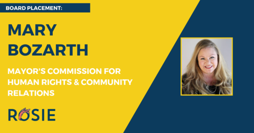 Mary Bozarth appointed to Mayor's Commission for Human Rights & Community Relations