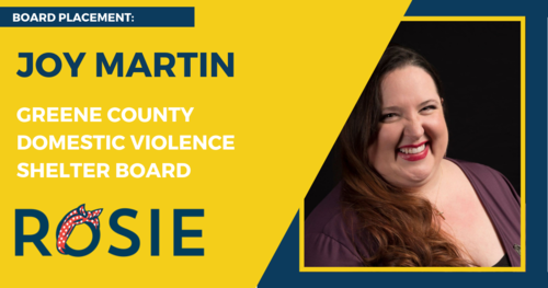 Joy Martin appointed to Greene County Domestic Violence Shelter Board