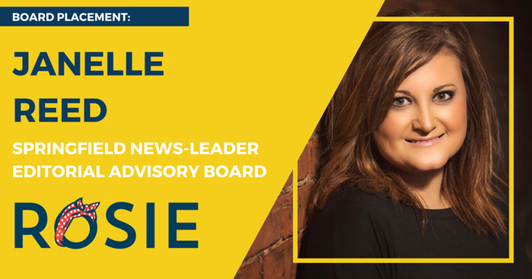 Janelle Reed appointed to Springfield News-Leader Editorial Advisory Board