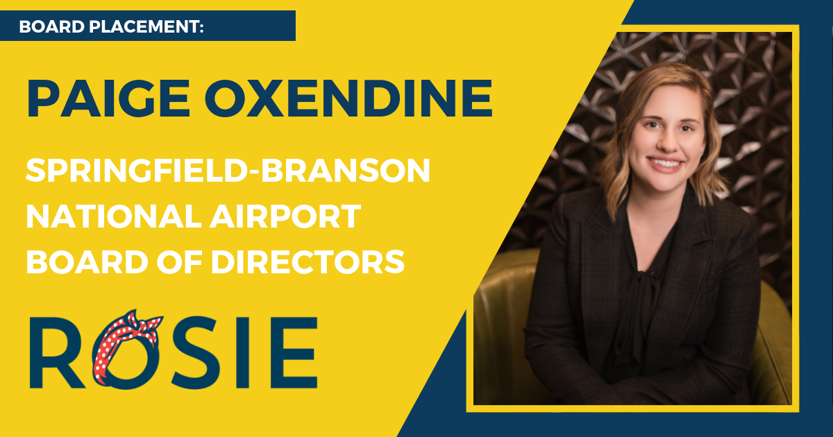 Paige Oxendine appointed to Springfield-Branson National Airport Board