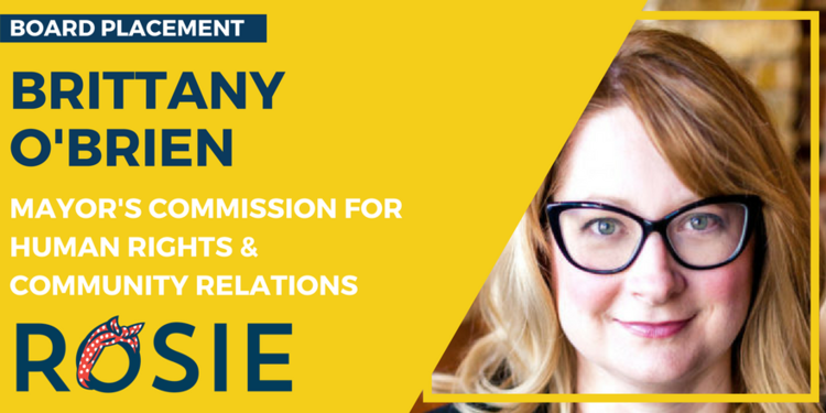 Brittany O'Brien appointed to the Mayor's Commission for Human Rights & Community Relations